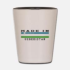Uzbekistan Made In Shot Glass