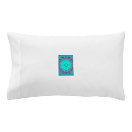 Blue Mandala Pillow Case