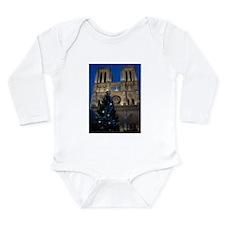Notre Dame de Paris a NOEL Onesie Romper Suit