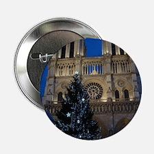 """Notre Dame de Paris a NOEL 2.25"""" Button"""