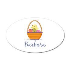 Easter Basket Barbara Wall Decal