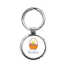 Easter Basket Barbra Keychains