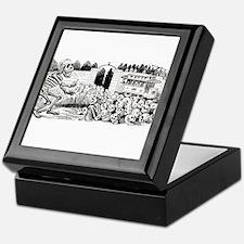 Calavera Cemetery Keepsake Box
