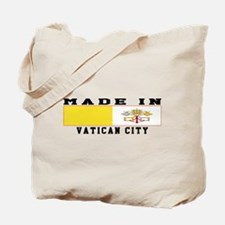 Vatican City Made In Tote Bag