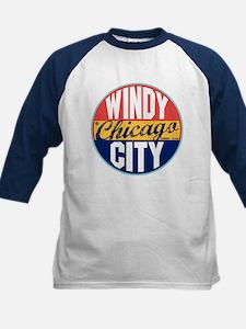 Chicago Vintage Label Kids Baseball Jersey