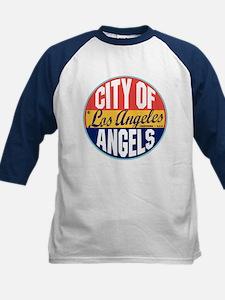 Los Angeles Vintage Label Kids Baseball Jersey