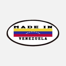 Venezuela Made In Patches