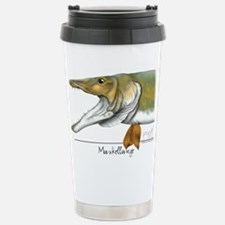 Cute Muskellunge Travel Mug