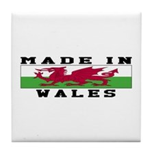 Wales Made In Tile Coaster