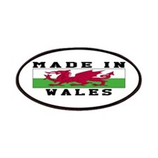Wales Made In Patches