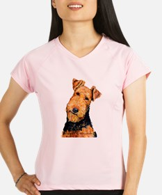Airedale Terrier Peformance Dry T-Shirt