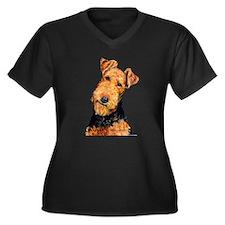 Airedale Terrier Plus Size T-Shirt