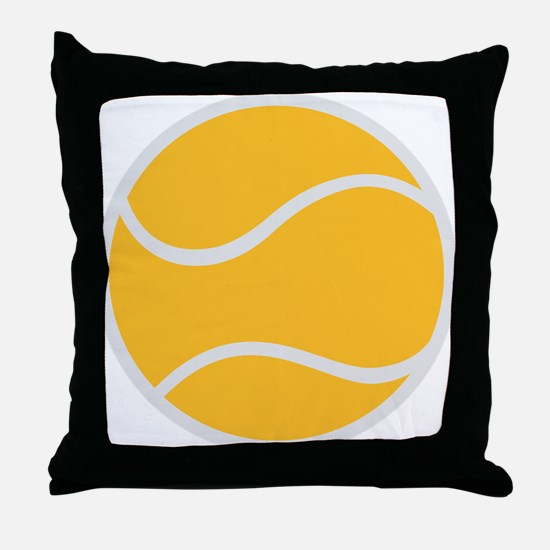 tennis_ball Throw Pillow