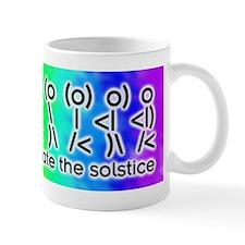 ASCII Solstice Dance Small Mugs