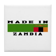 Zambia Made In Tile Coaster
