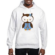 Aspergers Autism Owl Hoodie