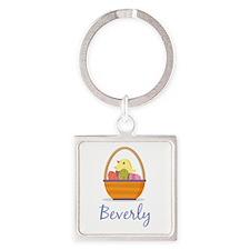 Easter Basket Beverly Keychains