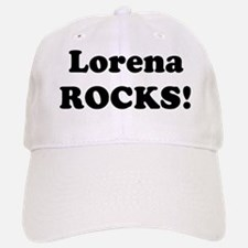 Lorena Rocks! Baseball Baseball Cap