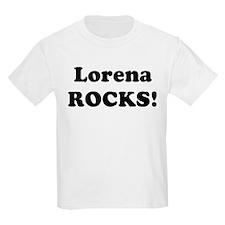 Lorena Rocks! Kids T-Shirt