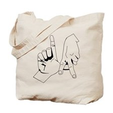 L.A. Hand Sign Tote Bag