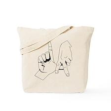 L.A. Hand Sign Tote Bag