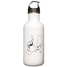 L.A. Hand Sign Water Bottle