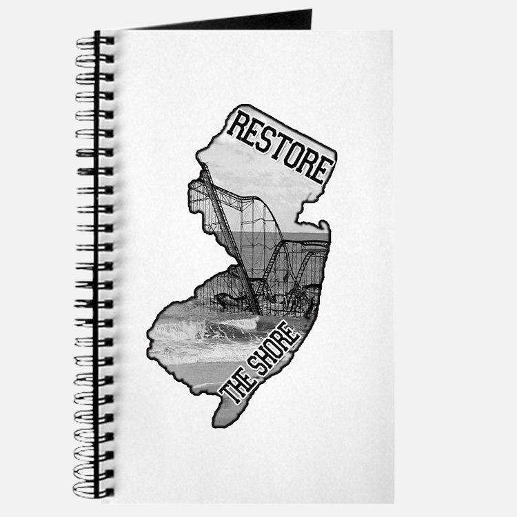 Cute Restore the shore Journal
