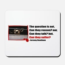Do They Suffer? Mousepad