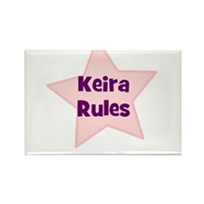 Keira Rules Rectangle Magnet