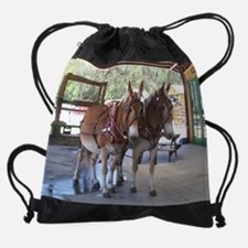 Unique Neglected horse Drawstring Bag