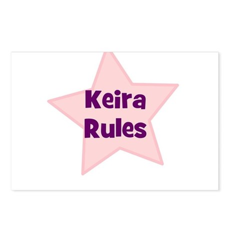 Keira Rules Postcards (Package of 8)