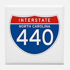 Interstate 440 - NC Tile Coaster