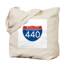 Interstate 440 - NC Tote Bag
