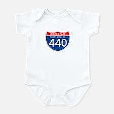 Interstate 440 - NC Infant Bodysuit