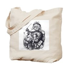 Cute Christmas victorian Tote Bag