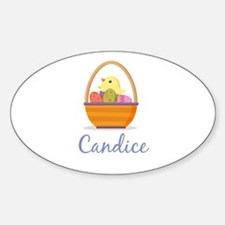 Easter Basket Candice Decal