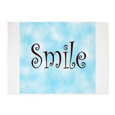 Smile 5'x7'Area Rug