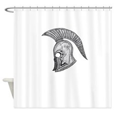 SPARTAN V 1 Shower Curtain