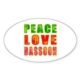 Bassoon stickers Stickers