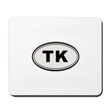 Tony Kornheiser Sticker Mousepad