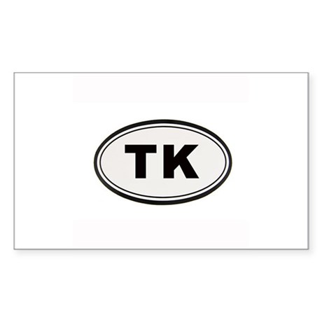 Tony Kornheiser Sticker Sticker (Rectangle)