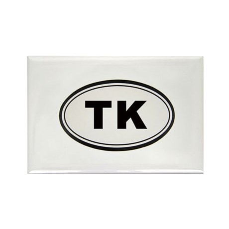 Tony Kornheiser Sticker Rectangle Magnet