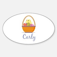Easter Basket Carly Decal
