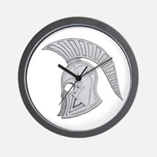 SPARTAN V 2 Wall Clock