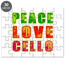 Peace Love Cello Puzzle