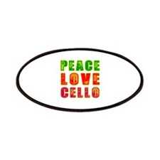 Peace Love Cello Patches