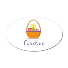 Easter Basket Caroline Wall Decal