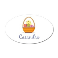 Easter Basket Casandra Wall Decal
