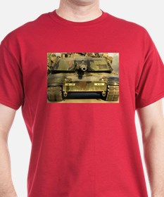 M1Ai Abrams MBT Red T-Shirt military gift