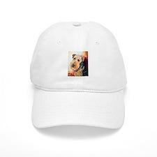 Airedale Terrier Portrait Baseball Baseball Cap